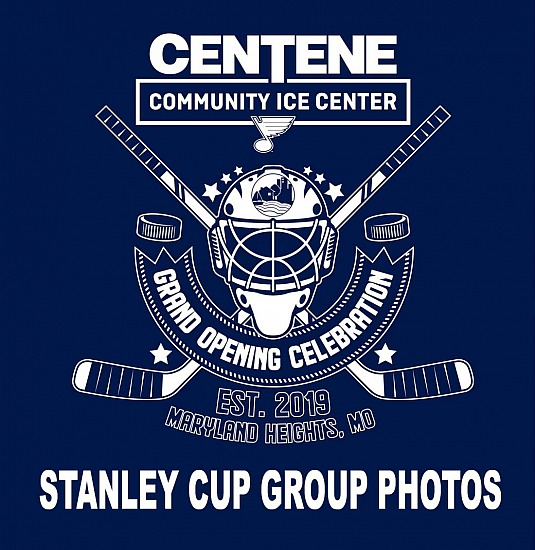 Centene Community Ice Center Open House Stanley Cup Photos